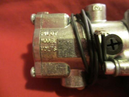 Schrader Bellows, N3555100153, Inline Valve, 140 PSIG, 120V