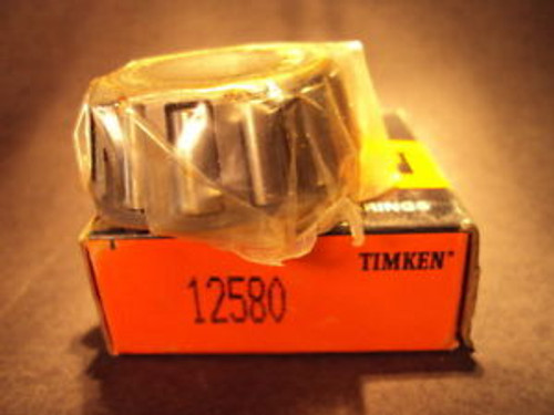 Timken 12580, Tapered Roller Bearing Single Cone
