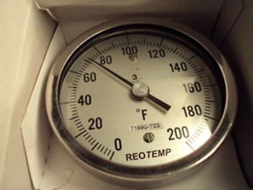 Reotemp, AA060CF43 Bimetal Thermometer,AA/06/C/F43