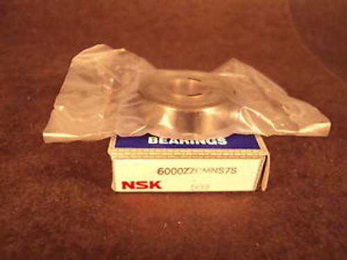 NSK 6000 ZZ CMN, Single Row Deep Groove Ball Bearing (=2 SKF, NTN, FAG 2Z)