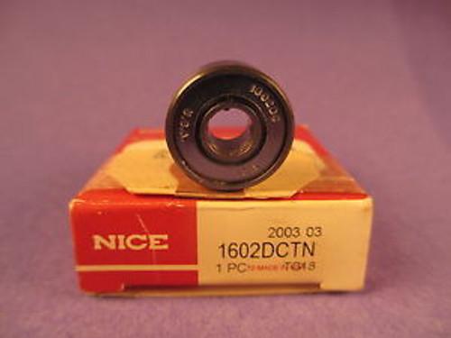 Nice 1602 DC, 1602DC, 1602 DC TN, Precision Ground Radial Bearing