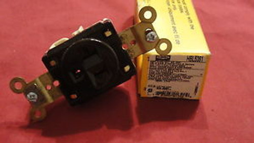 Hubbell, HBL5361, Single Receptacle