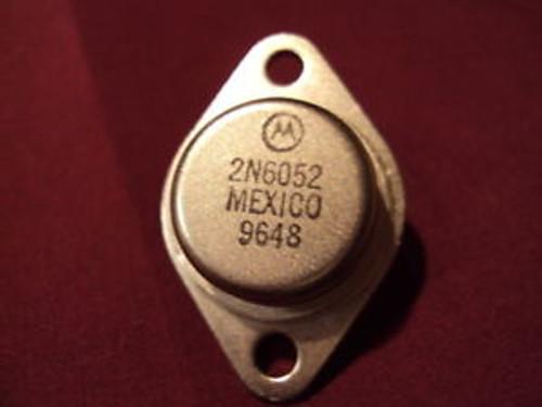 Motorola 2N6052, 2N 6052 - BIPOLAR TRANSISTOR