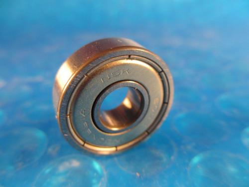 LOT of 10, NSK 608 ZZ Deep Groove Roller Bearing 608ZZ,(=2 NTN,SKF,Nachi 608 2Z)