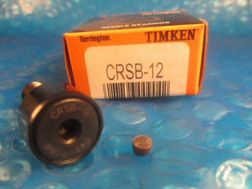 Torrington Timken CRSB12, CRSB 12, Standard Stud Cam Follower=2 McGill CF 3/4 SB