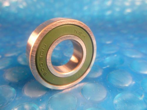 NSK 6002 DUU Deep Groove Ball Bearing, 6002DUU (=2 SKF 2RS, Fafnir 9102PP, NTN)