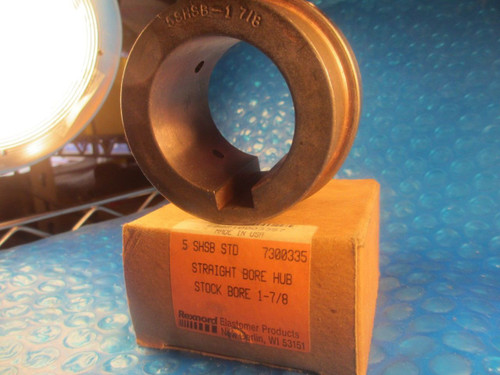 REX,REXNORD 5SHSB1 7/8, 5 SHSB 1 7/8 #5 Omega Finished Bore Coupling Hub,Size 5