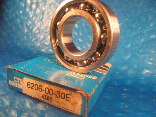 General Bearing, GBC,6206-00-30 E, 6206, Ball Bearing,(Compare 2 SKF, FAG, NSK)