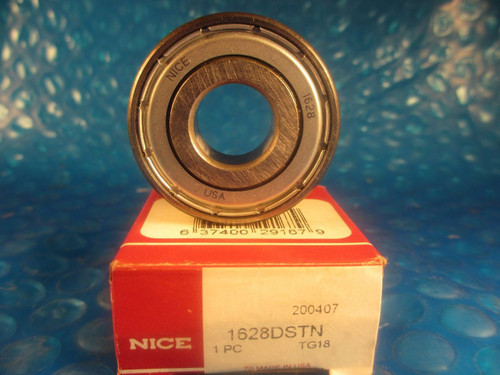 Nice 1628DSTN, 1628 DSTN, Precision Ground Radial Bearing
