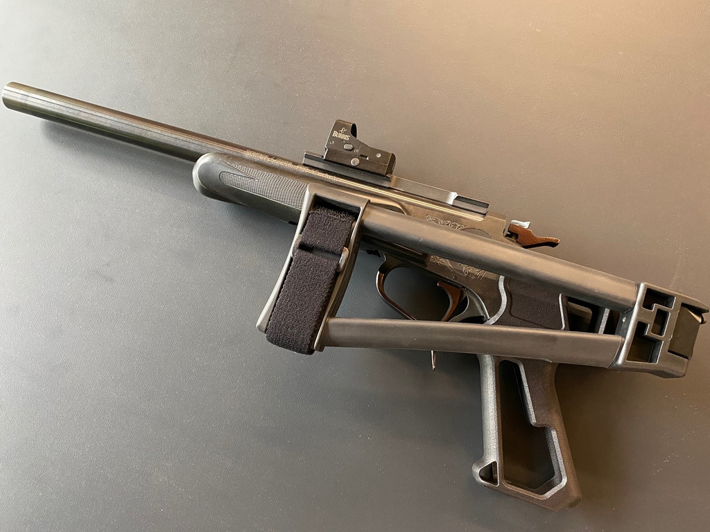 T/C G1 Contender (or SSK50) Grip with -1913 Picatinny Interface
