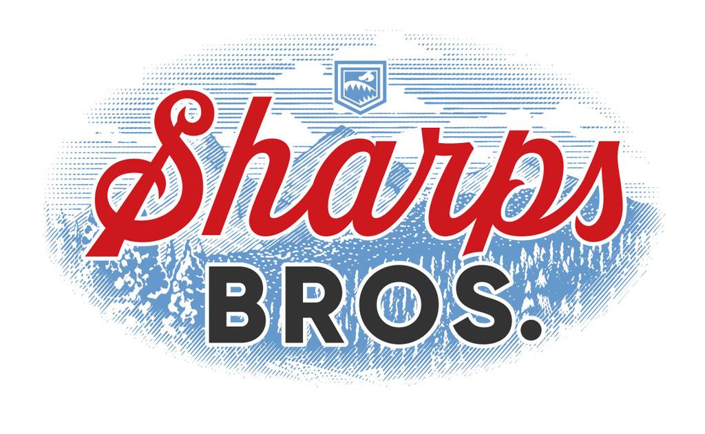 T-Shirt: Sharps Bros. (White)