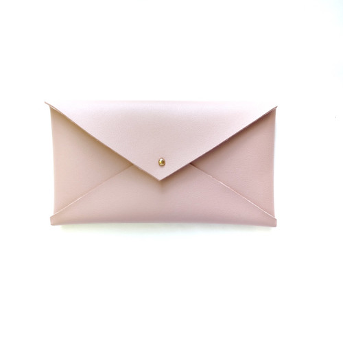 Envelope Clutch Blush