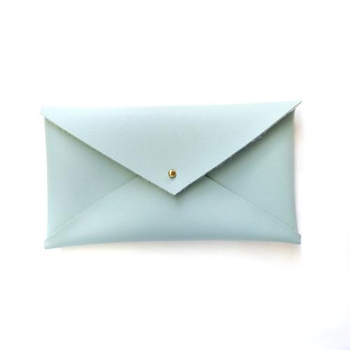 Envelope Clutch Blue Grass