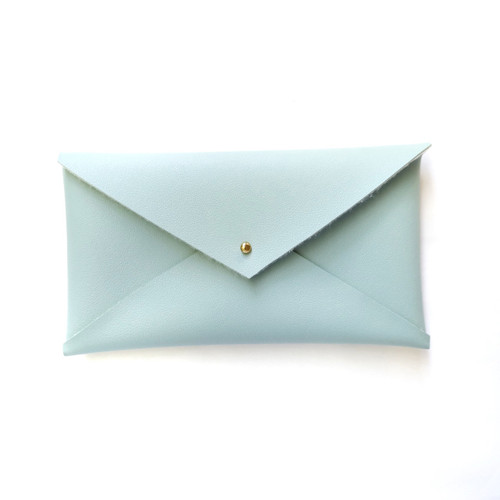 Envelope Clutch Blue Grass
