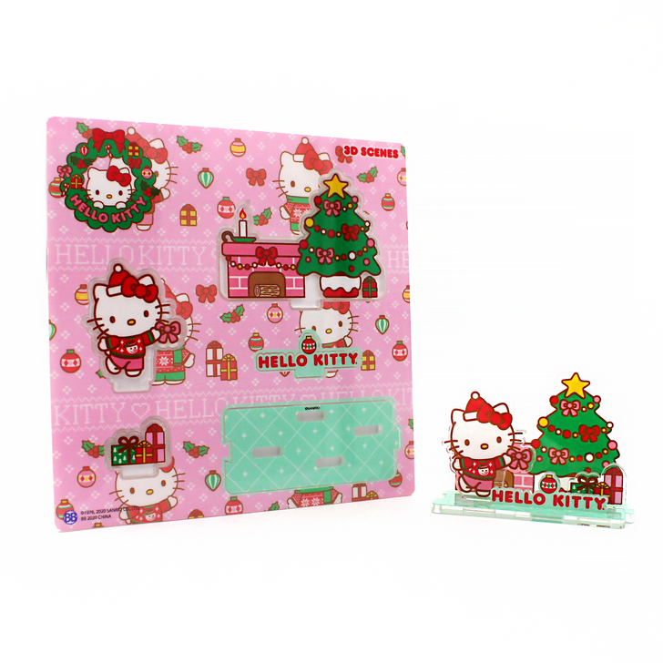 Hello Kitty Holiday 3D Scenes - Gifts