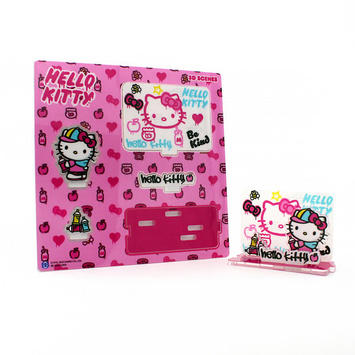 Hello Kitty Graffiti 3D Scenes Series 1 - Apple