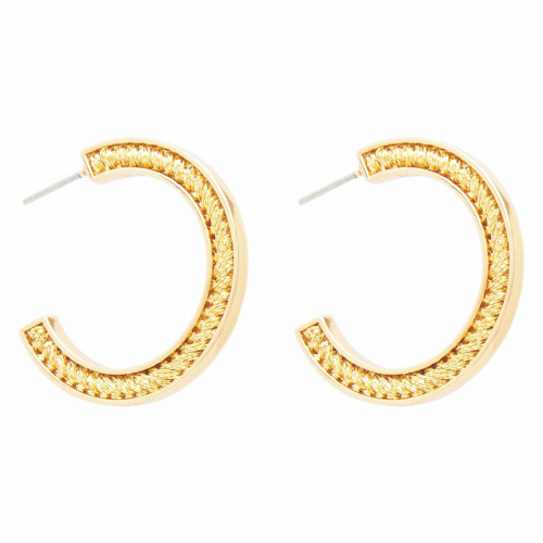 Mini Skinny Fiona Hoops - Gold