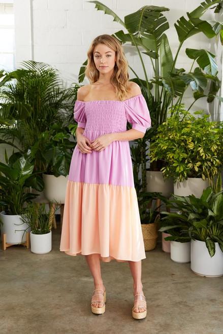 Wilder Dress - Orchid/Lychee