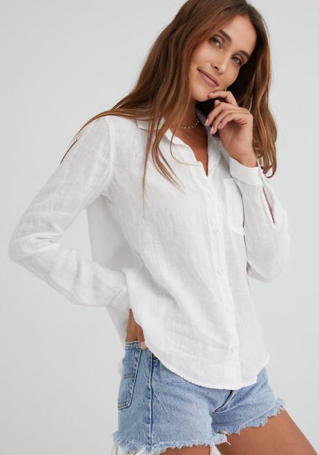 Pocket Button Down - White