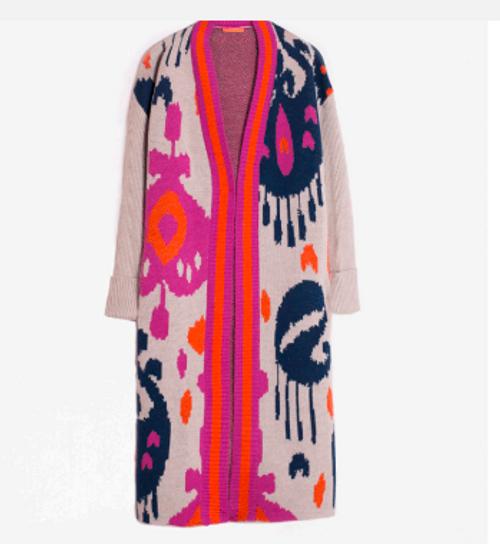 Stella Cardigan Knit - Multi