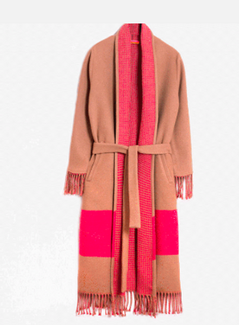 Nikita Coat - Camel Pink