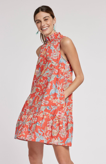 Poppy Poplin Chinoiserie - Multi