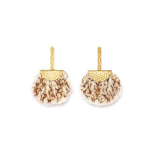 Fan Drop Earring - Annabelle