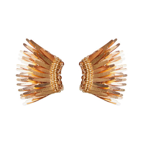Mini Madeline Earrings - Rose Gold