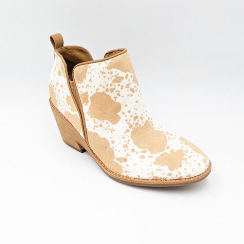 Sacora Bootie - Caramel Ivory
