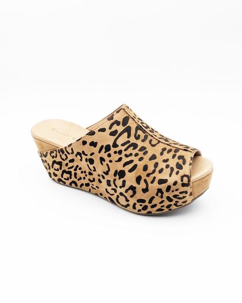 Wynn Wedge - Brown Leopard
