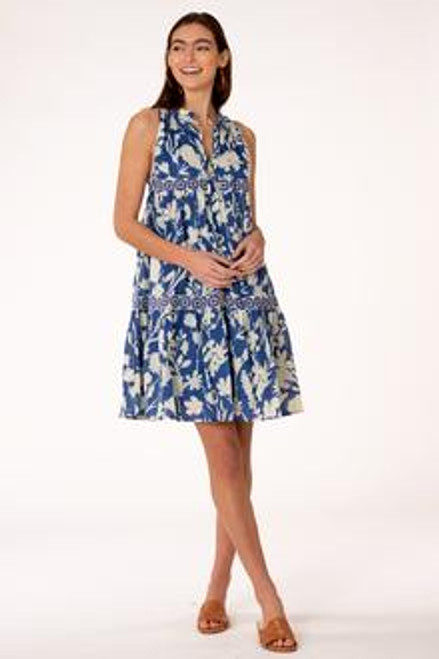 Ro Short Dress - Shadow Floral Classic