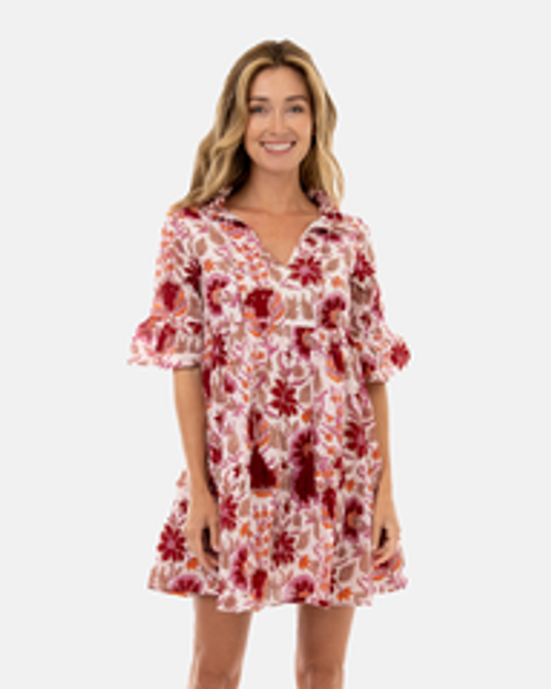Maria Dress - India Spice Floral