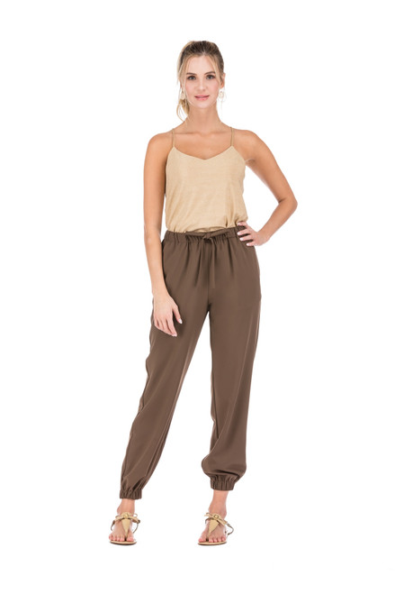 Joggers - Brown