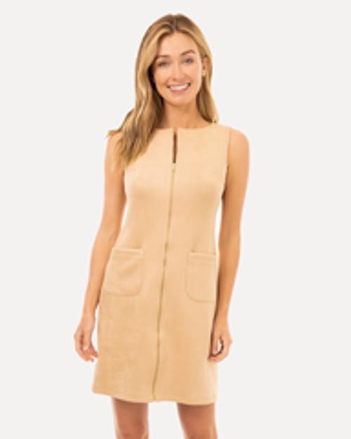 Becky Dress - Camel