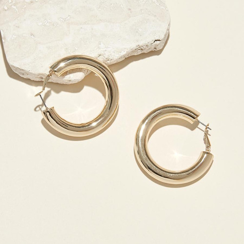 Emma Lux Hoops - Gold