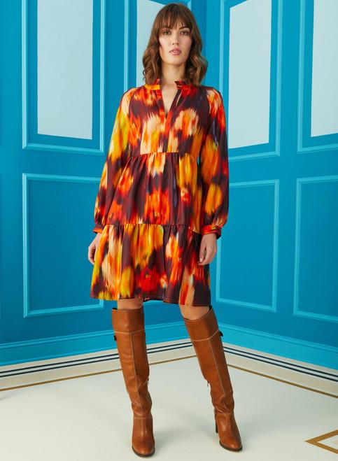 Paris Dress - Rosewood