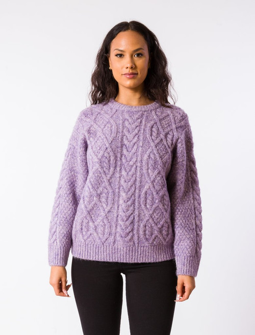 Dorothy Sweater - Lavender Frost