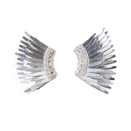 Mini Madeline Earrings - Silver