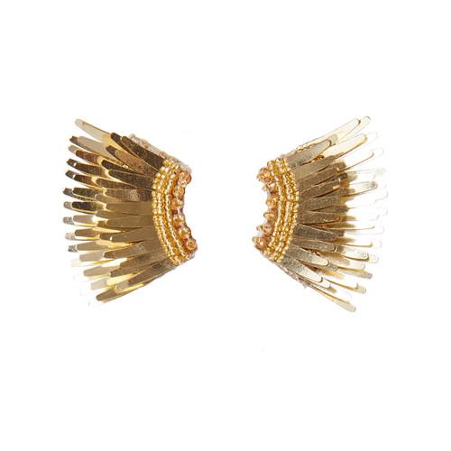 Mini Madeline Earrings - Gold