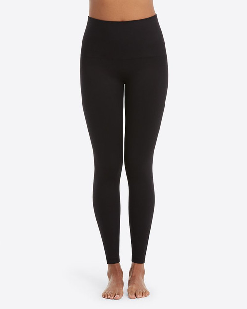 Look At Me Now Seamless Leggings - Very Black