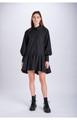 Buttondown Shirtdress - Black