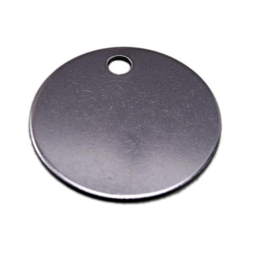 1.5 inch Round Tag Stainless Steel - Type 316