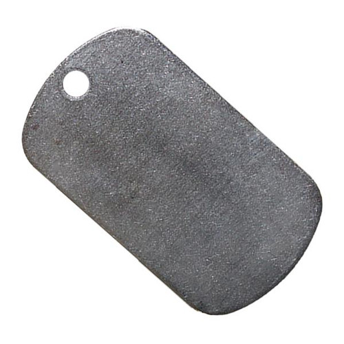 """Stainless Steel Dog Tag 1.96"""" X 1.13"""""""