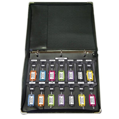 File-A-Key Binder with 3 Pages