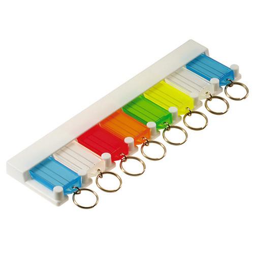 8 Tag Key Tag Storage Rack