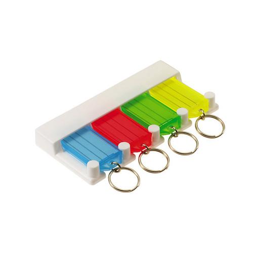 4 Tag Key Tag Storage Rack