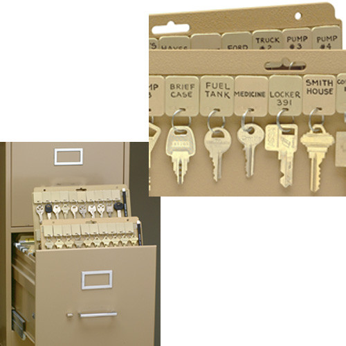 Velcro Key Storage - Vel-Key File