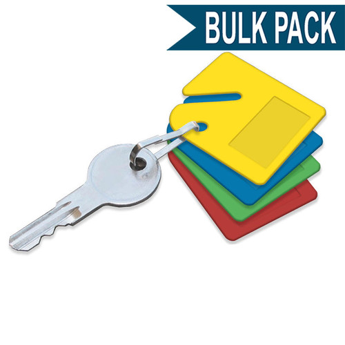 Slotted Tag for Key Cabinets Bulk Pack 20 to a Pack