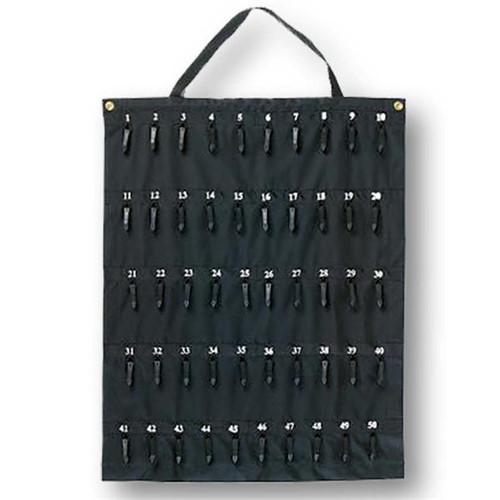 50 Hook Rollable Nylon Key Storage/Carrier