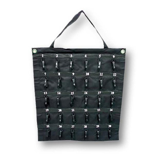 30 Hook Rollable Nylon Key Storage/Carrier